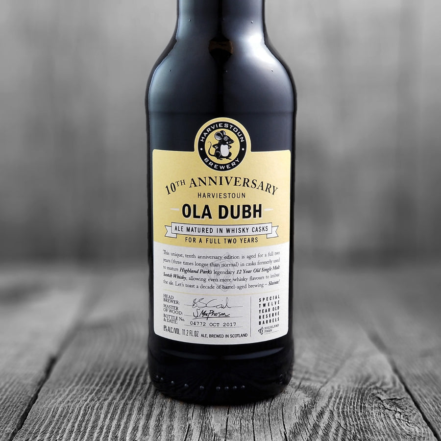 Harviestoun Ola Dubh 10th Anniversary
