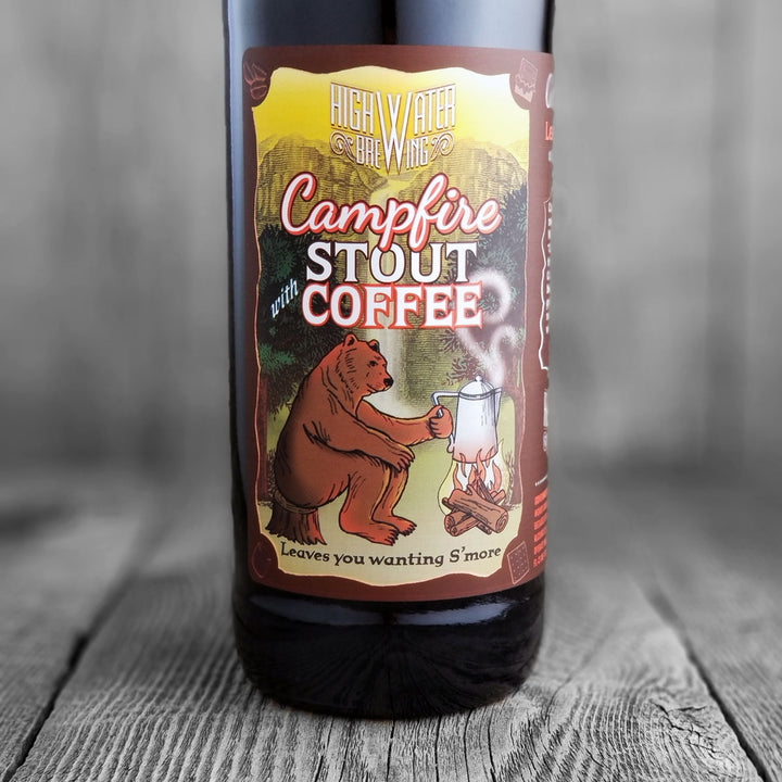 High Water Campfire Stout With Coffee