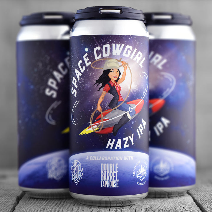 Hop Capital Space Cowgirl