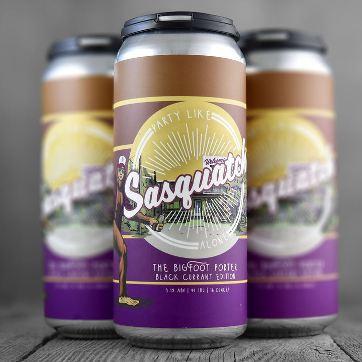 Hop Capital Party Like Sasquatch Alone Black Currant Edition