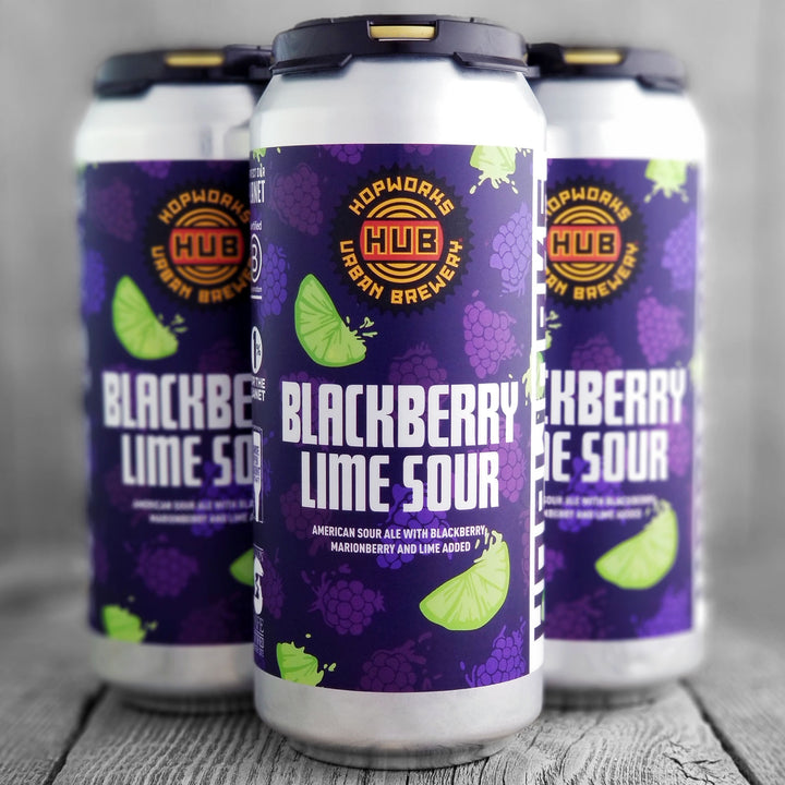 HUB Blackberry Lime Sour