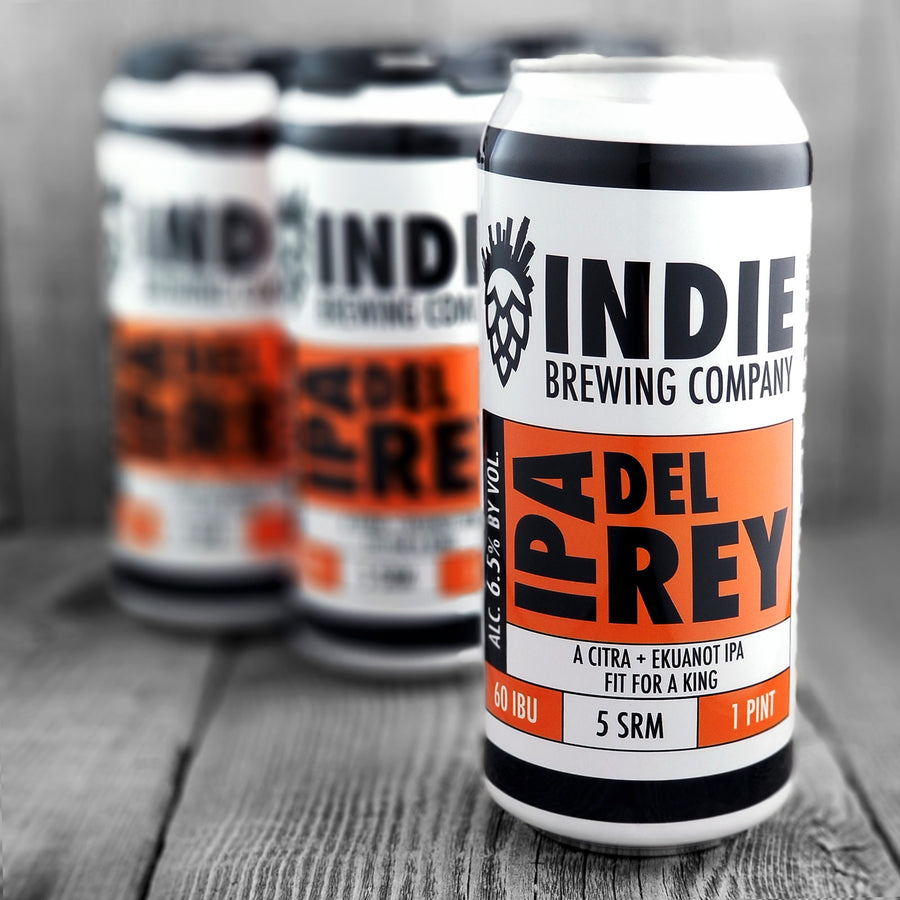 Indie Brewing Co. IPA Del Ray (Hazy)