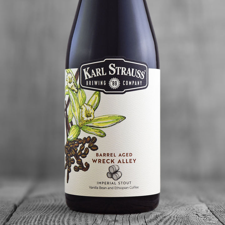 Karl Strauss Barrel Aged Vanilla Bean Wreck Alley