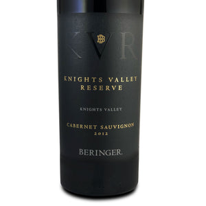 Beringer Knights Valley Reserve Cabernet Sauvignon 2012