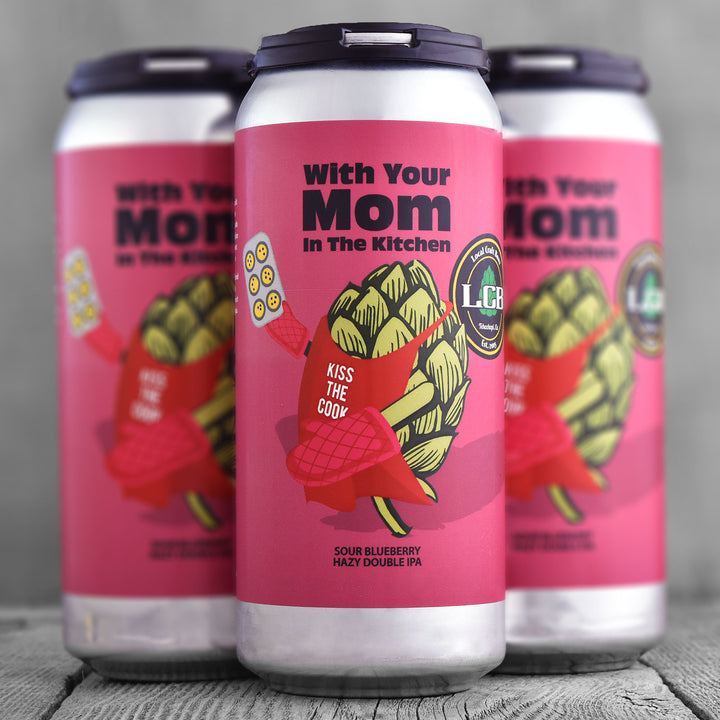 Local Craft Beer With your Mom in the Kitchen
