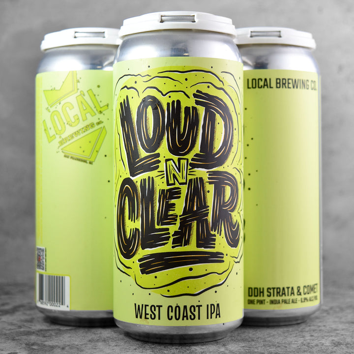 Local Brewing Co. Loud N Clear