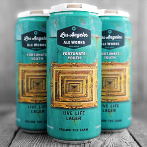 Los Angeles Ale Works / Fortunate Youth - Live Life Lager