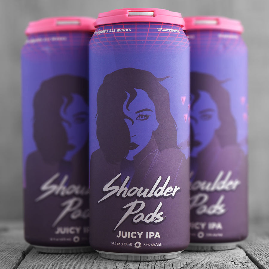 Los Angeles Ale Works Shoulder Pads
