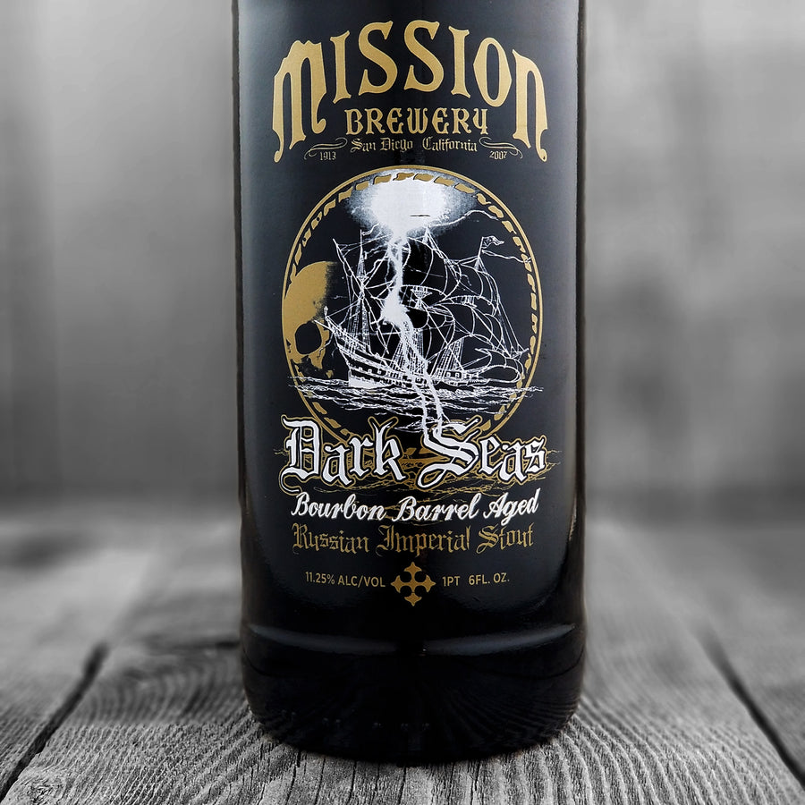 Mission Dark Seas Bourbon Barrel Aged Russian Imperial Stout