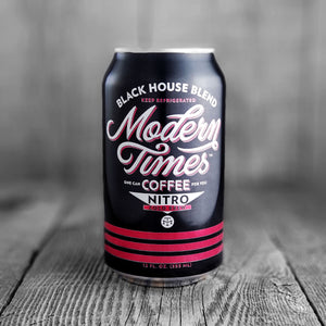 Modern Times Coffee Black House Blend - Nitro -