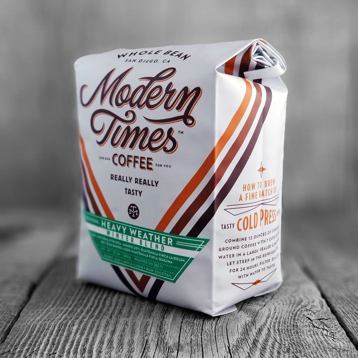 Modern Times Coffee Heavy Weather