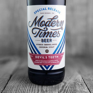 Modern Times Devils Teeth (Bourbon Barrels) 2016