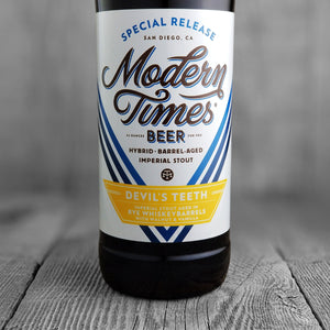 Modern Times Devils Teeth (Rye Whiskey)