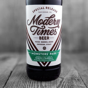 Modern Times Monsters Park (Tequila Barrels)