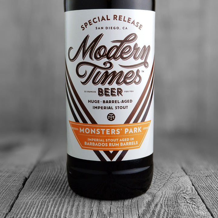 Modern Times Monsters Park (Rum Barbados Barrels)