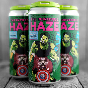 New World Ales The Incredible Haze