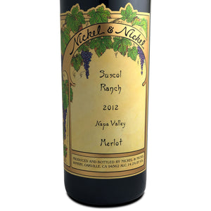 Nickel & Nickel Suscol Ranch Merlot 2012