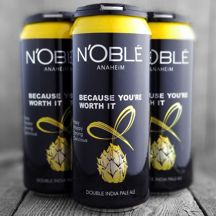 Noble Ale Works Because You're Worth It