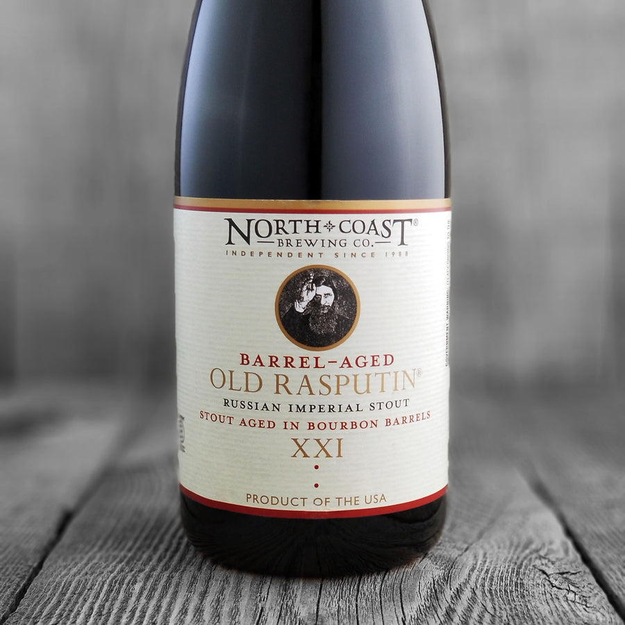 North Coast Bourbon Barrel Aged Old Rasputin XXI