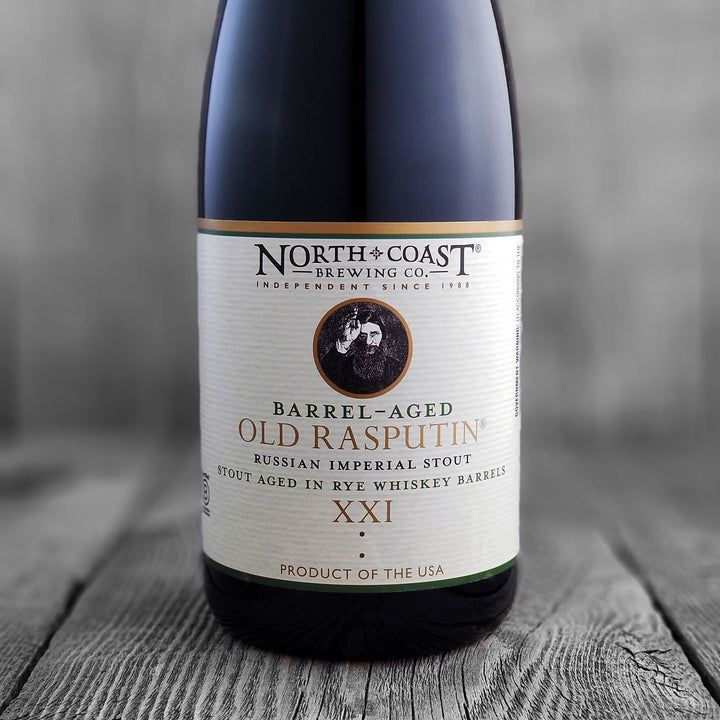 North Coast Rye Whiskey Barrel Aged Old Rasputin XXI