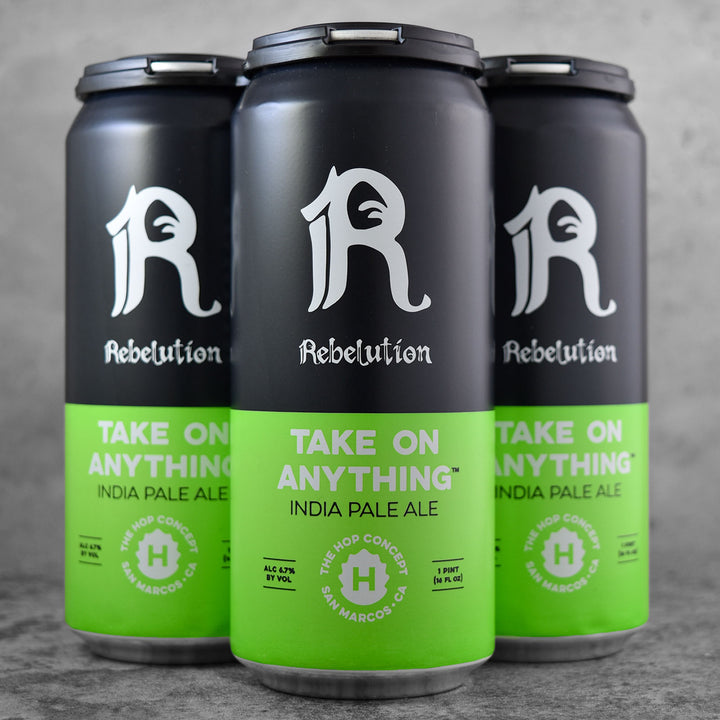 The Hop Concept / Rebelution - Take On Anything