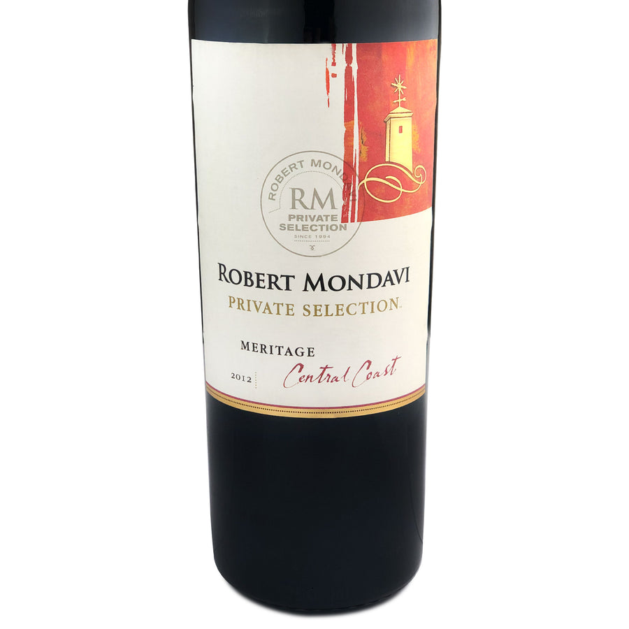 Robert Mondavi Private Selection Meritage 2012
