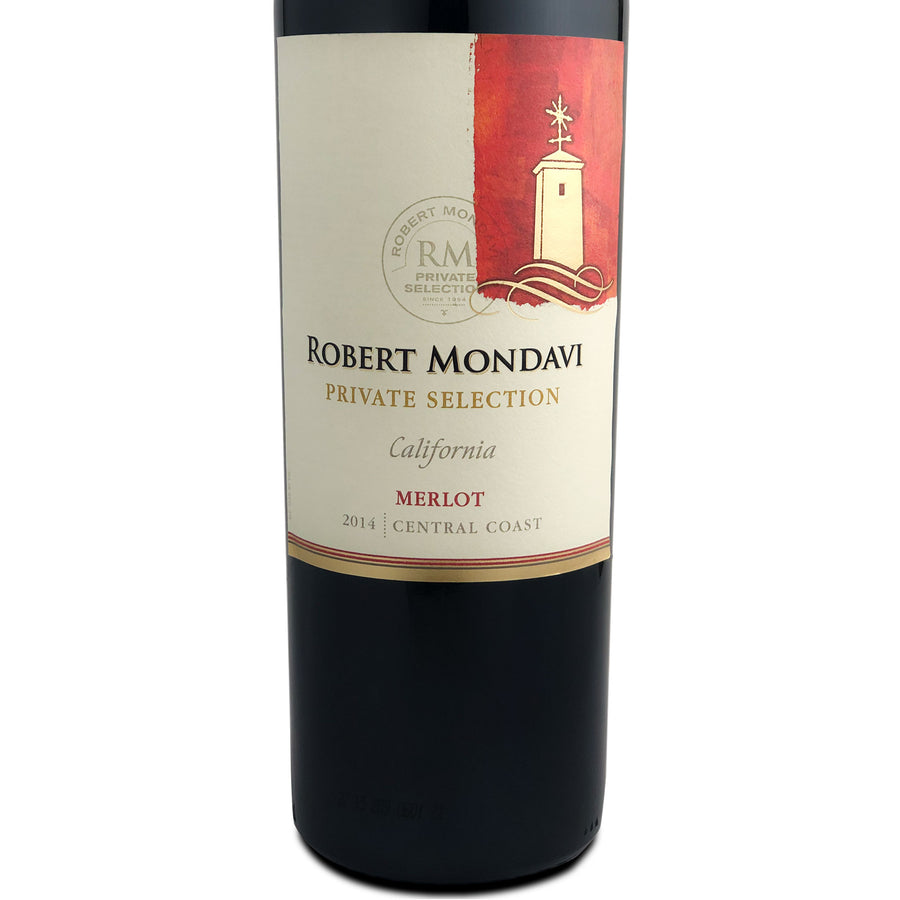 Robert Mondavi Private Selection Merlot 2014