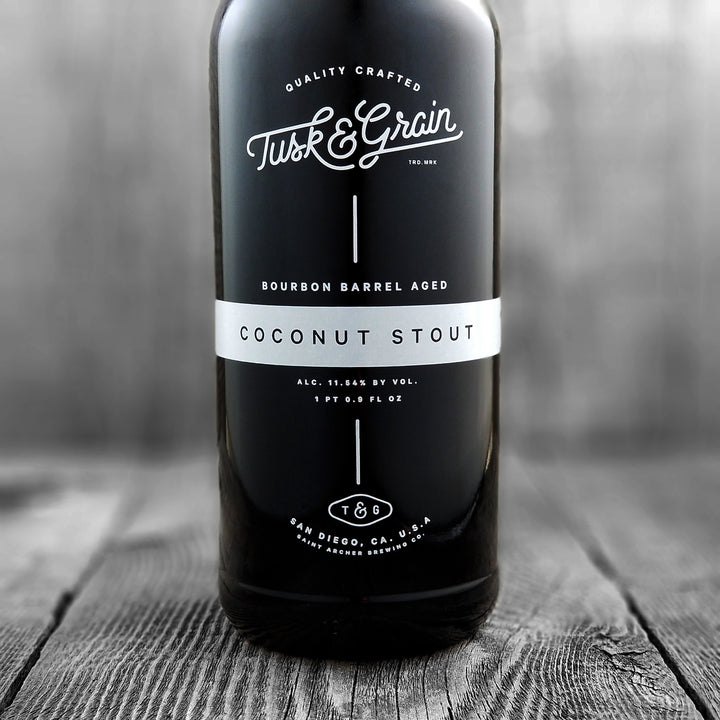 Saint Archer Tusk & Grain Coconut Stout (Limit 1)