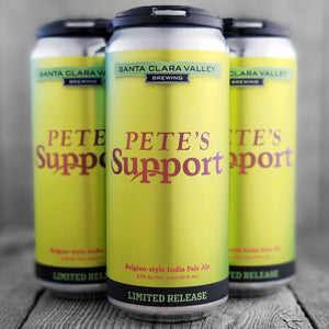 Santa Clara Valley Pete's Support
