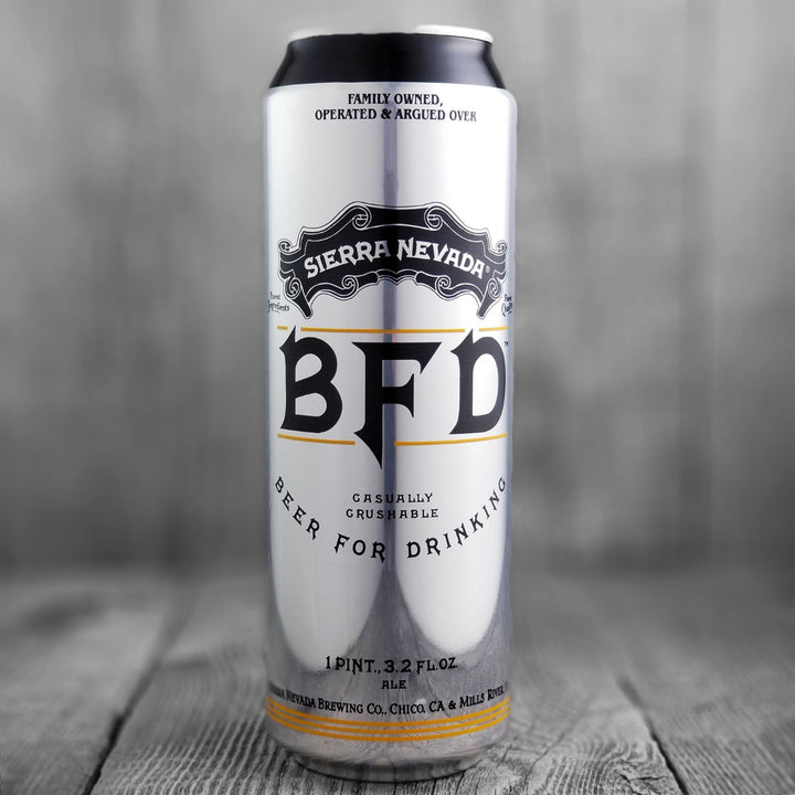 Sierra Nevada BFD (Beer For Drinking)