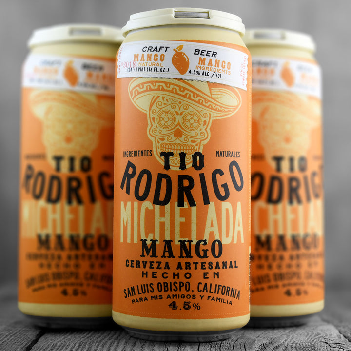 Tio Rodrigo Craft Beer Michelada Mango