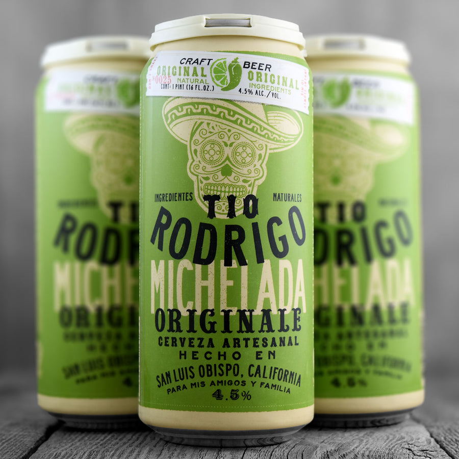 Tio Rodrigo Craft Beer Michelada Original