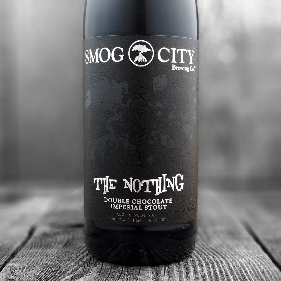 Smog City The Nothing Double Chocolate Imperial Stout