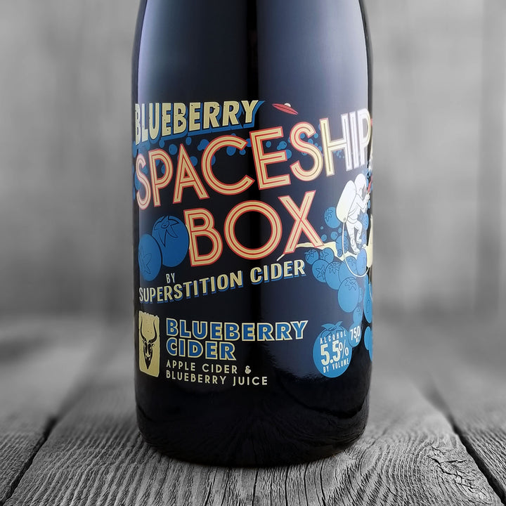 Superstition Blueberry Spaceship Box