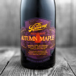 The Bruery Midnight Autumn Maple