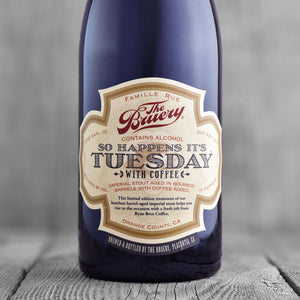 The Bruery So Happens It's Tuesday With Coffee 2017