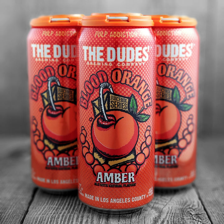 The Dudes' Blood Orange Amber