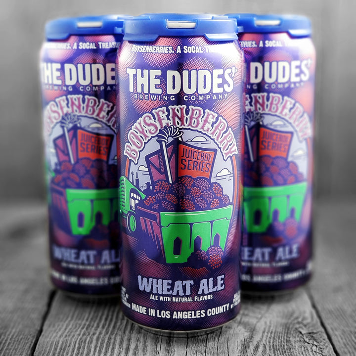 The Dudes' Boysenberry Wheat Ale