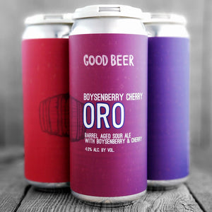 The Good Beer Boysenberry Cherry Oro