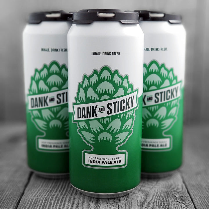 Dank & Sticky IPA (The Hop Freshener Series)