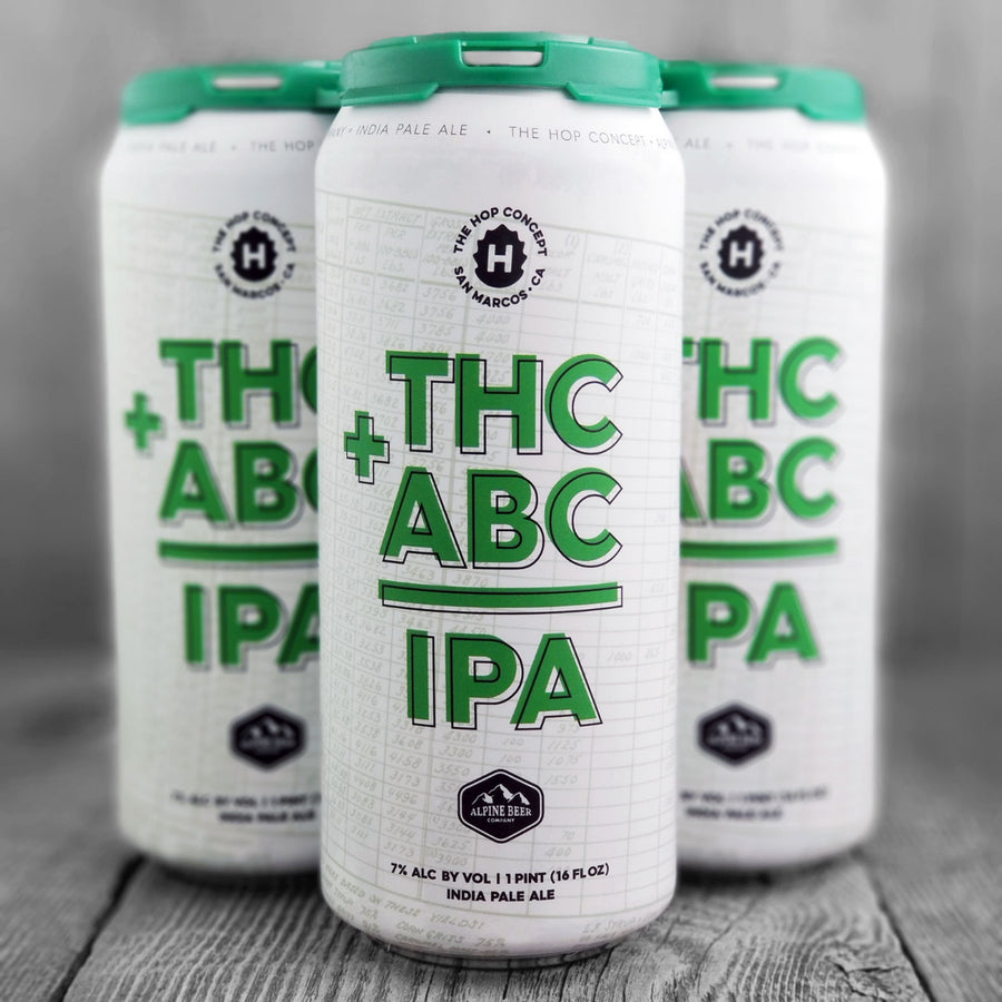 The Hop Concept / Alpine Beer Company THC+ABC