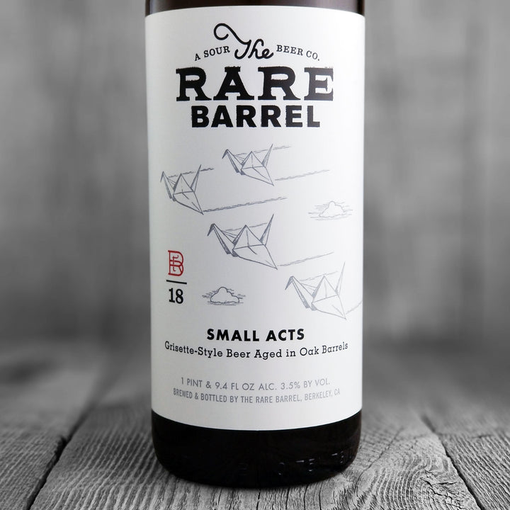 The Rare Barrel Small Acts 2018