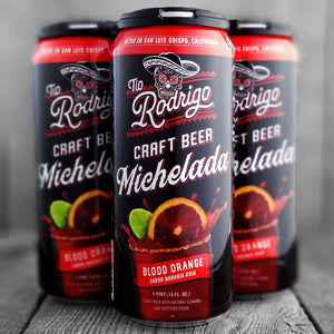 Tio Rodrigo Craft Beer Michelada Blood Orange