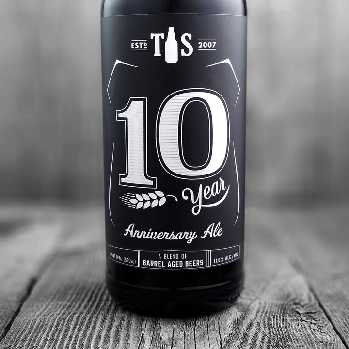 Tioga Sequoia 10 Year Anniversary Ale (Barrel Aged Blend)