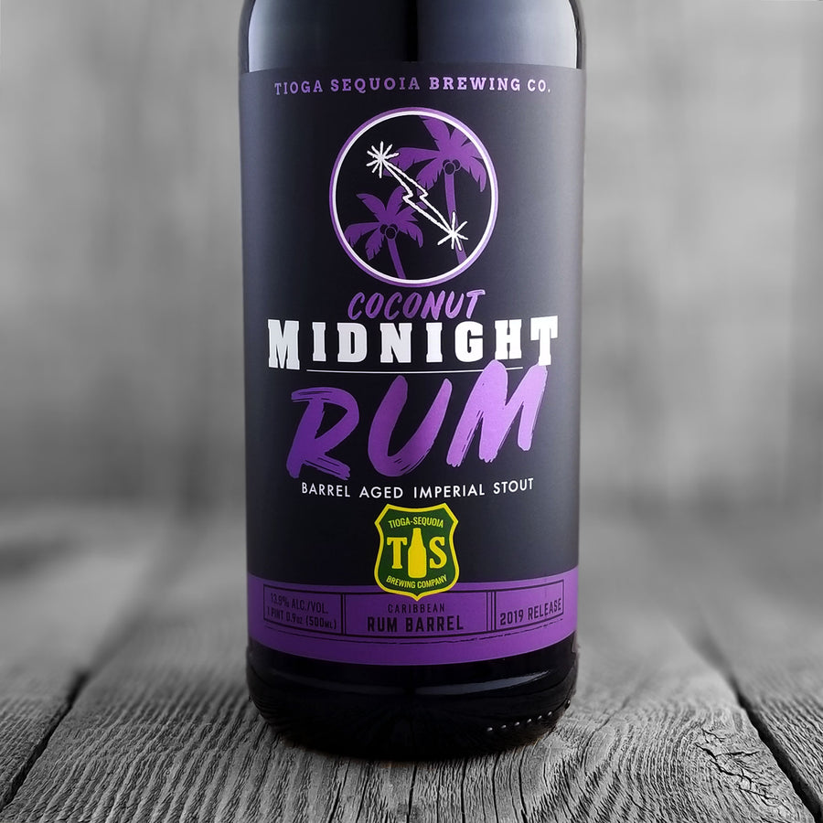 Tioga Sequoia Coconut Midnight Rum - Limit 1