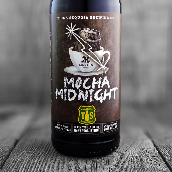 Tioga Sequoia / Craft Beer Kings / Mostra Coffee Mocha Midnight