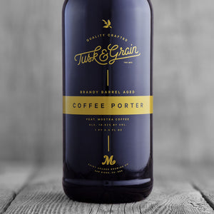 Tusk & Grain Brandy Barrel Aged Coffee Porter Feat. Mostra Coffee