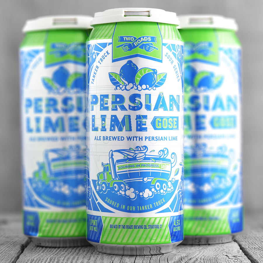 Two Roads Persian Lime Gose - Tanker Truck Series