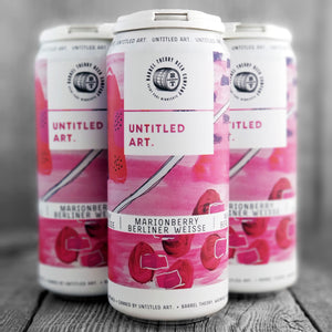 Untitled Art / Barrel Theory - Marionberry Berliner Weisse