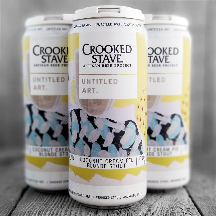 Untitled Art / Crooked Stave - Coconut Cream Pie Blonde Stout